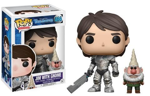 POP Television: Trollhunters - Jim with Gnome