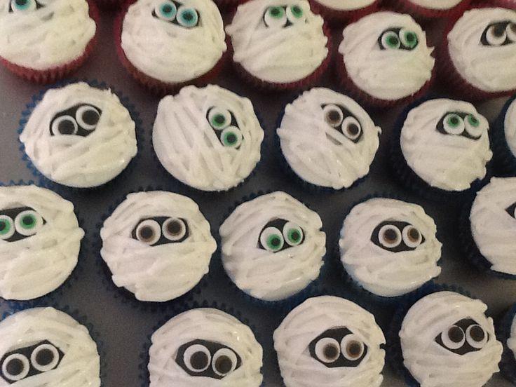 Cupcakes de momia