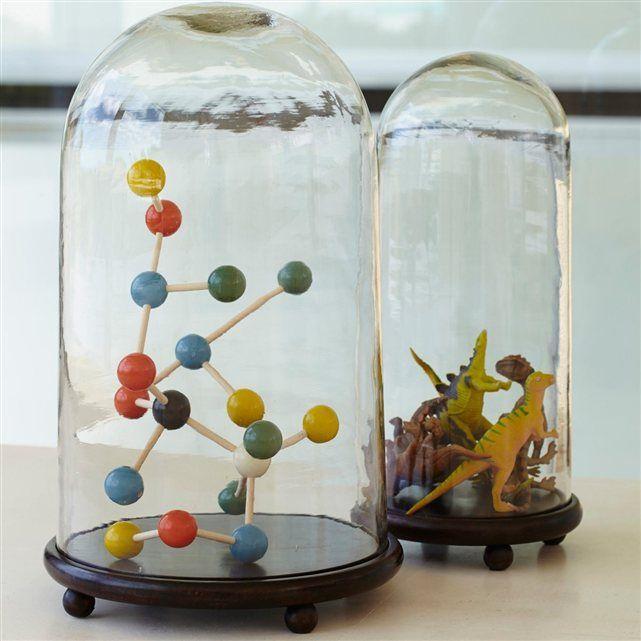 Très tendance, ce globe verre évoque les anciens cabinets de curiosités. Libre à…