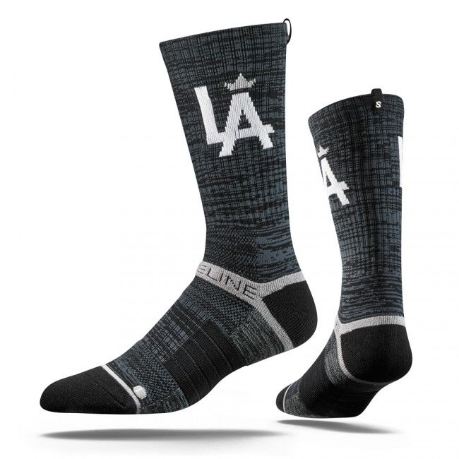 "Strideline Charcoal Crown Socks, Strapped Fit 2.0 #harrydasher The New STRIDELINE Strapped Fit 2.0 is the most comfortable sock in the world. Sweat Wicking Select Terry pads coupled with a patented Heel Strap offer a secure & cushioned fit unique to anything else on the market. With the addition of our new Digital Ink technology & distinct ""S"" tag, heightened design meets technical performance in our most innovative sock yet. One size. #Strideline #charcoal #crown #socks #sports #mens…"
