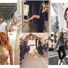 Karlie Kloss en backstage du défilé Versace haute couture printemps-été 2014, Joan Smalls shootée par Karl Lagerfeld pour la campagne Fendi, Nadja Bender dans les coulisses d'une séance photo de Vogue Paris... A deux semaines du lancement de la Fashion Week automne-hiver 2014-2015, les tops en vogue opéraient leur grand retour sur la scène mode. Autant de moments d'effervescence qu'elles n'ont pas hésité à partager sur leurs compte Instagram.