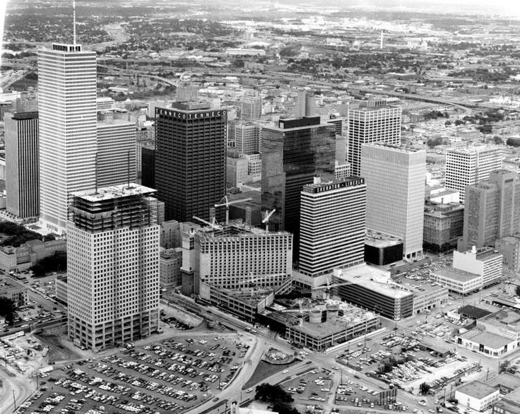 In the 1970s Shell Oil moved its headquarters to Houston & helped shape the iconic skyline.