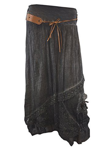 Fab Style Womens Lagenlook Italian Cotton Lace Layer Sexy Belted Summer Maxi Skirt Fab Style http://www.amazon.co.uk/dp/B00VASDRAG/ref=cm_sw_r_pi_dp_ftf1vb1VF71RR