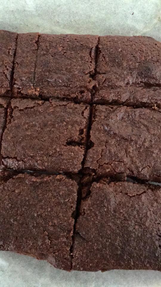gooey brownies