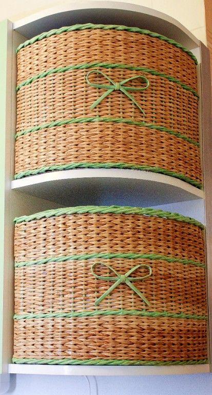 Cestas esquineras - Corner baskets