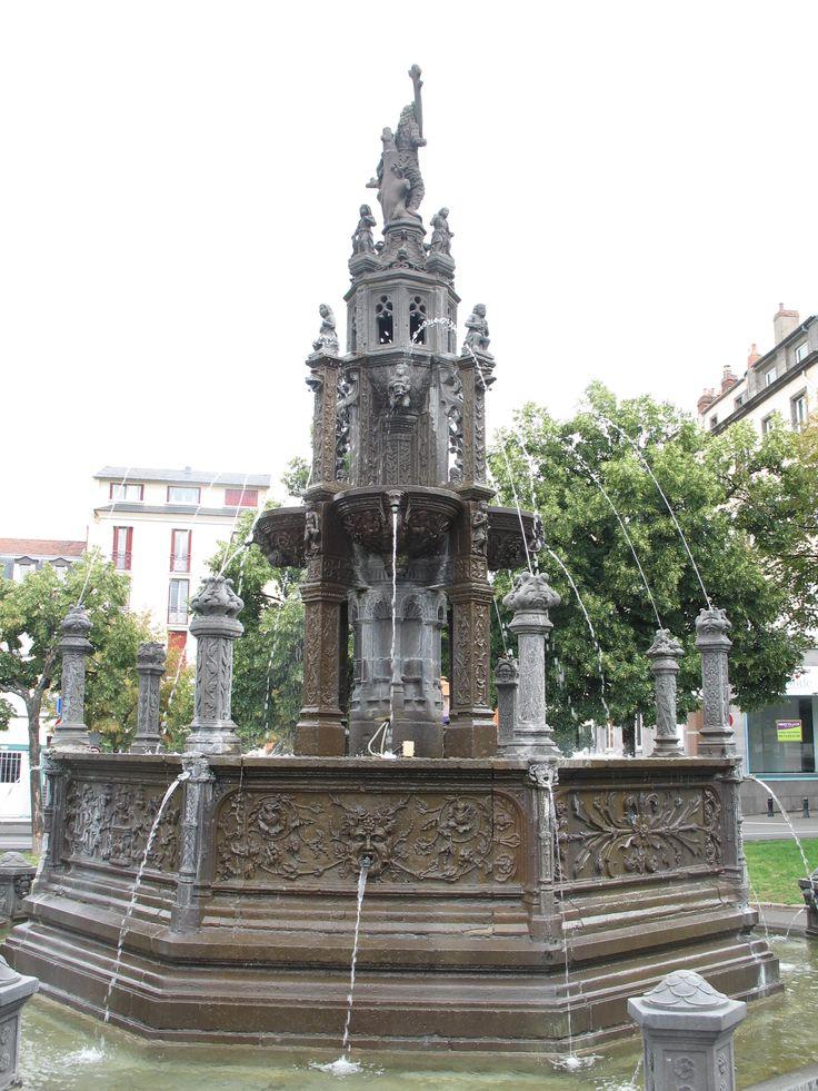 Fontaine d'Amboise, Clermont-Ferrand