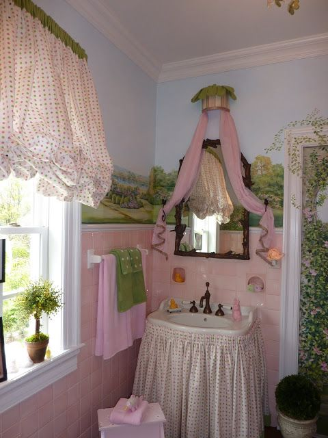A Lapin Life: Bathroom - Little Girls Storybook Charm!