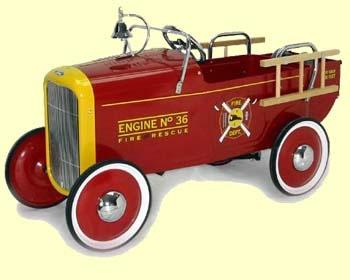 1932 Fire Truck Roadster Pedal Car & 96 best Pedal Cars images on Pinterest | Pedal cars Vintage toys ... markmcfarlin.com