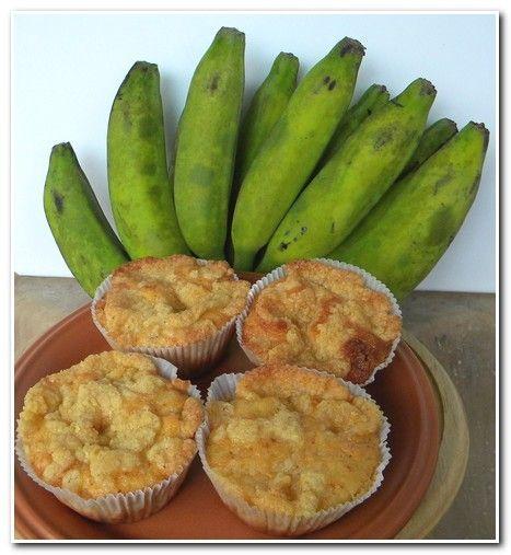 Muffin de Banana, este é o melhor que já comi. | Blog Aqui na Cozinha |