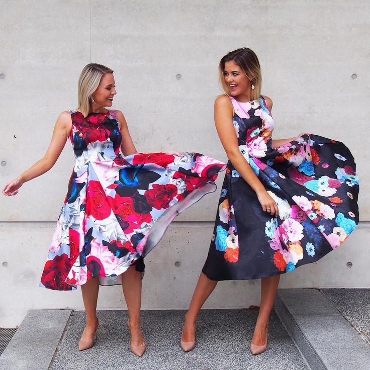 The Flower Bomb & Confetti Twill Dresses via @twocorporategirls