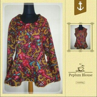 My Peplum Blouse