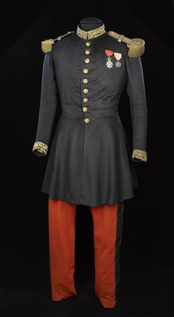 Uniform worn by Napoleon III at the Battle of Solferino