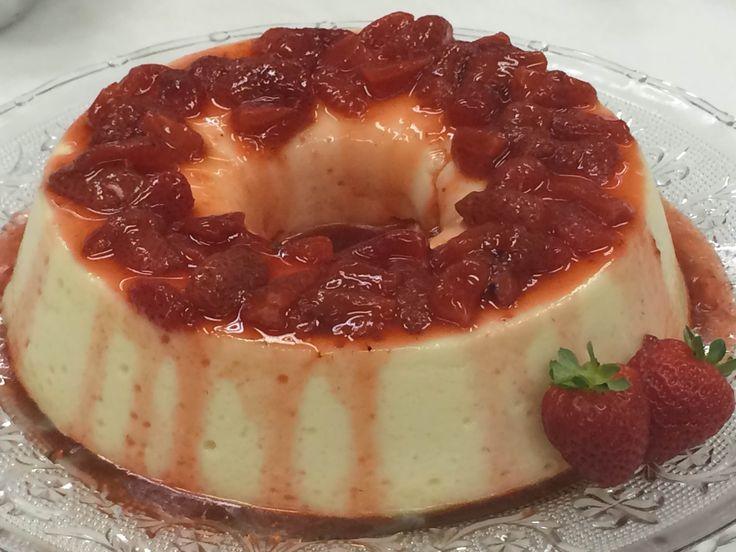 Pudim de Iogurte | Doces e sobremesas > Receitas de Pudim | Mais Você - Receitas Gshow