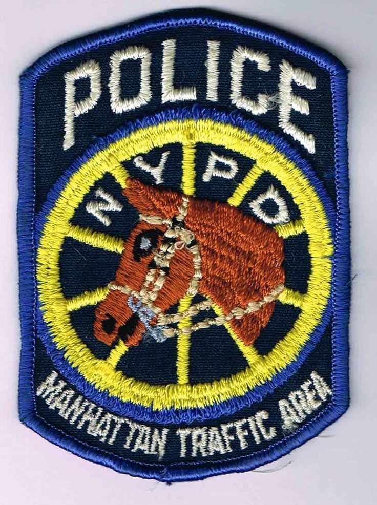 Pin by ROGER PARKS on NYPD in 2020 Police patches