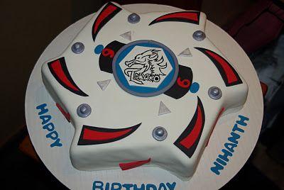 Ooh La La Cakes by Melissa: BeyBlade Cake