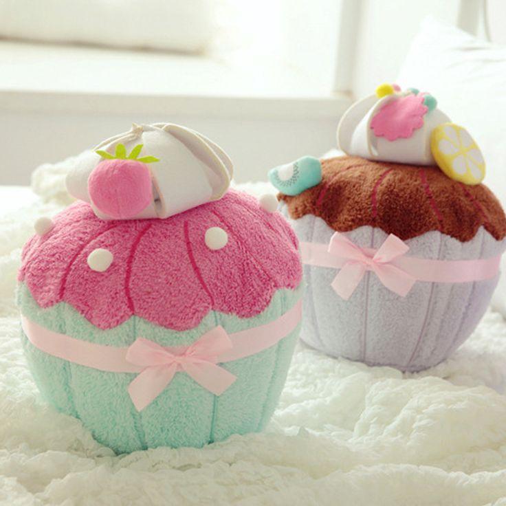 cute plush chocolate cupcake - photo #3