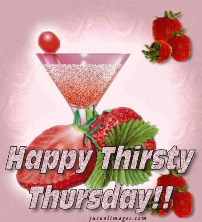 Happy Thirsty Thursday! I know that this pic has got me thirsty this Thursday.