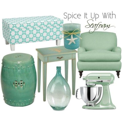 34 best Decor: Seafoam - Turquoise images on Pinterest | For the ... - home decor accents