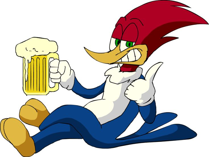 Woody woodpecker Beer by LoulouVZ.deviantart.com on @deviantART