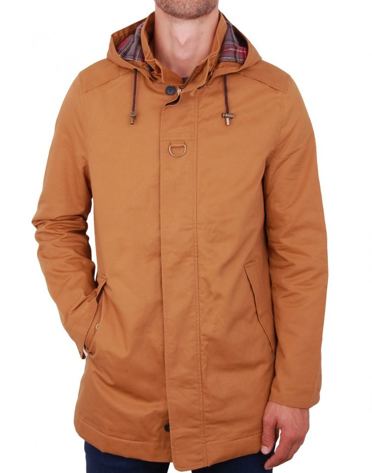 Parka camel à capuche - Vêtements homme, manteau homme, parka homme