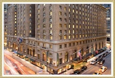 The Roosevelt Hotel, New York:  spent a weekend here in 2006.