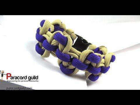 Serpent river bar paracord bracelet - Paracord guild