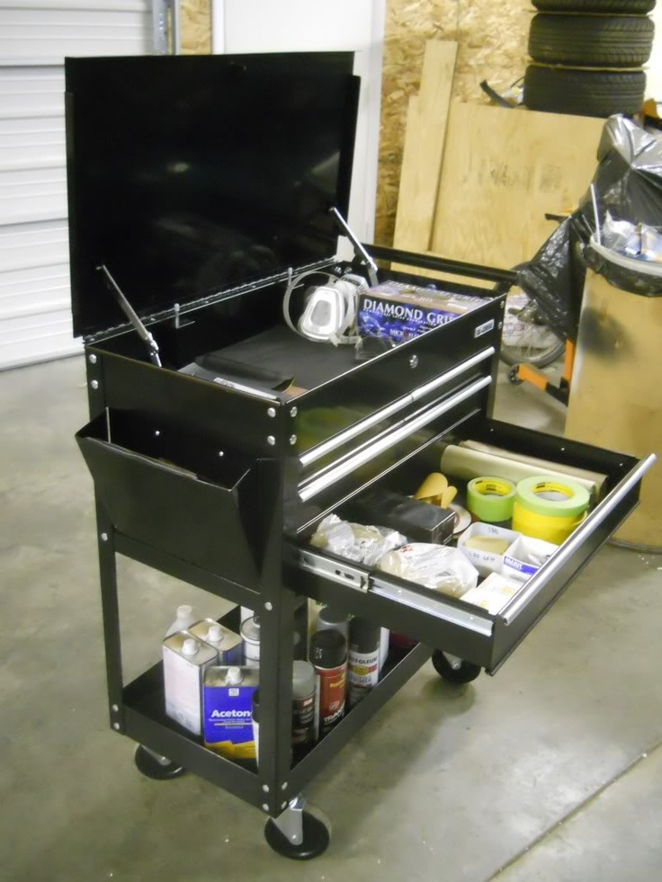 22 best service cart images on pinterest kitchen islands for Garage modification