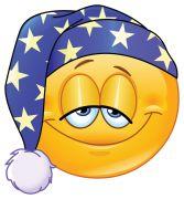 good night emoticon sticker