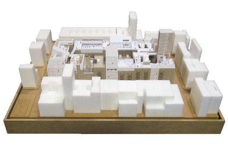 Abschlussarbeit: Rooftop Commune, Marcel Sonntag/ Technische Universität Braunschweig - Campus Masters | BauNetz.de