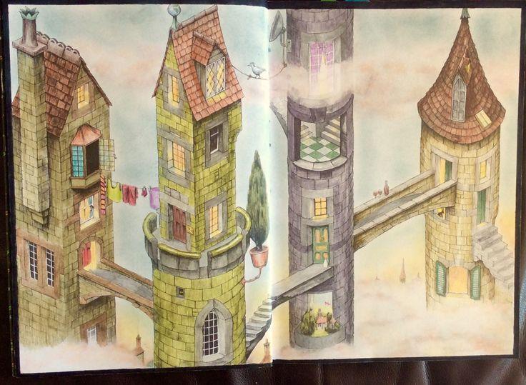 Colin Thompson's Fantastisches Malbuch. Coloured by Prue