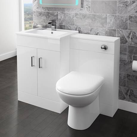 Back To Wall Toilet With Soft Close Seat And Concealed Cistern Online