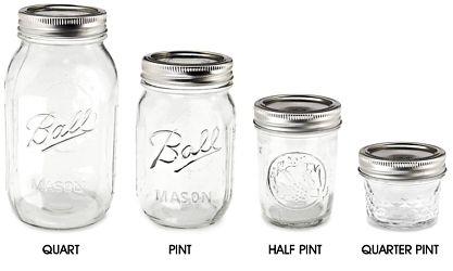Canning Jars, Mason Jars & Ball Jars in Stock - ULINE