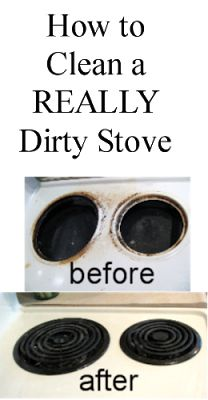 Proverbs 31 Woman: How to Clean a REALLY Dirty Stove Top