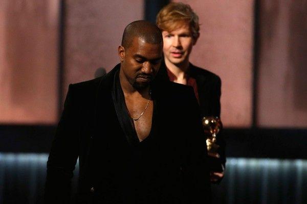 Kanye Pranks Beck after Beyoncé Loses Best Album