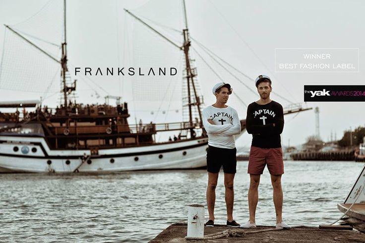 Franksland Signature Captain Tee