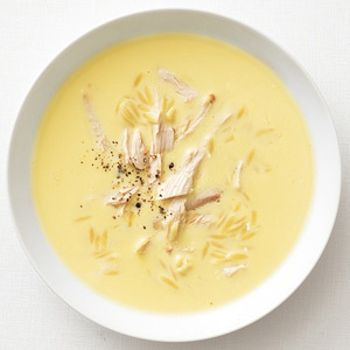 Greek Lemon Soup With Chicken. Easy - Healthful!