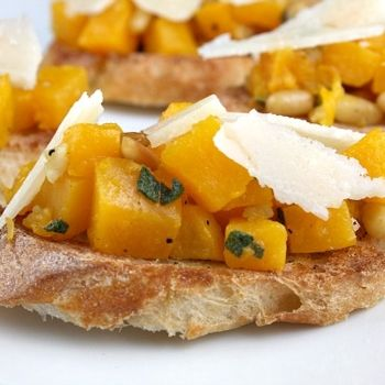 Great appetizer idea from RecipeGirl....skip the Parmesan and use sprouted grain bread for phase 3 fast metabolism diet