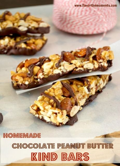 Homemade Chocolate Peanut Butter KIND Bars are the homemade version of the popular KIND bars. They're packed with roasted cashews, almonds, peanuts, and crisp rice cereal, smothered in peanut butter, honey, and brown rice syrup. Dip them in chocolate, and they're beyond irresistible!