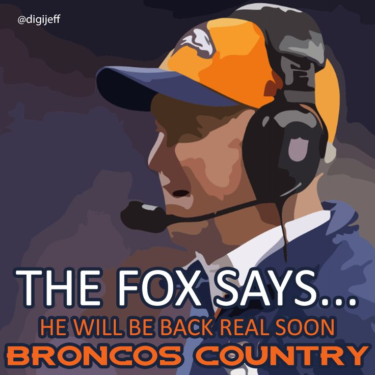 Kwgn Denver What Are You Praying For Today: Love You John Fox Prayers Are With You! Go Broncos
