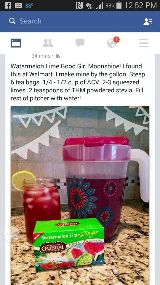 Watermelon Lime Good Girl Moonshine