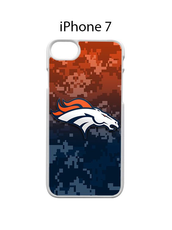 Denver Broncos on Camo iPhone 7 Case Cover