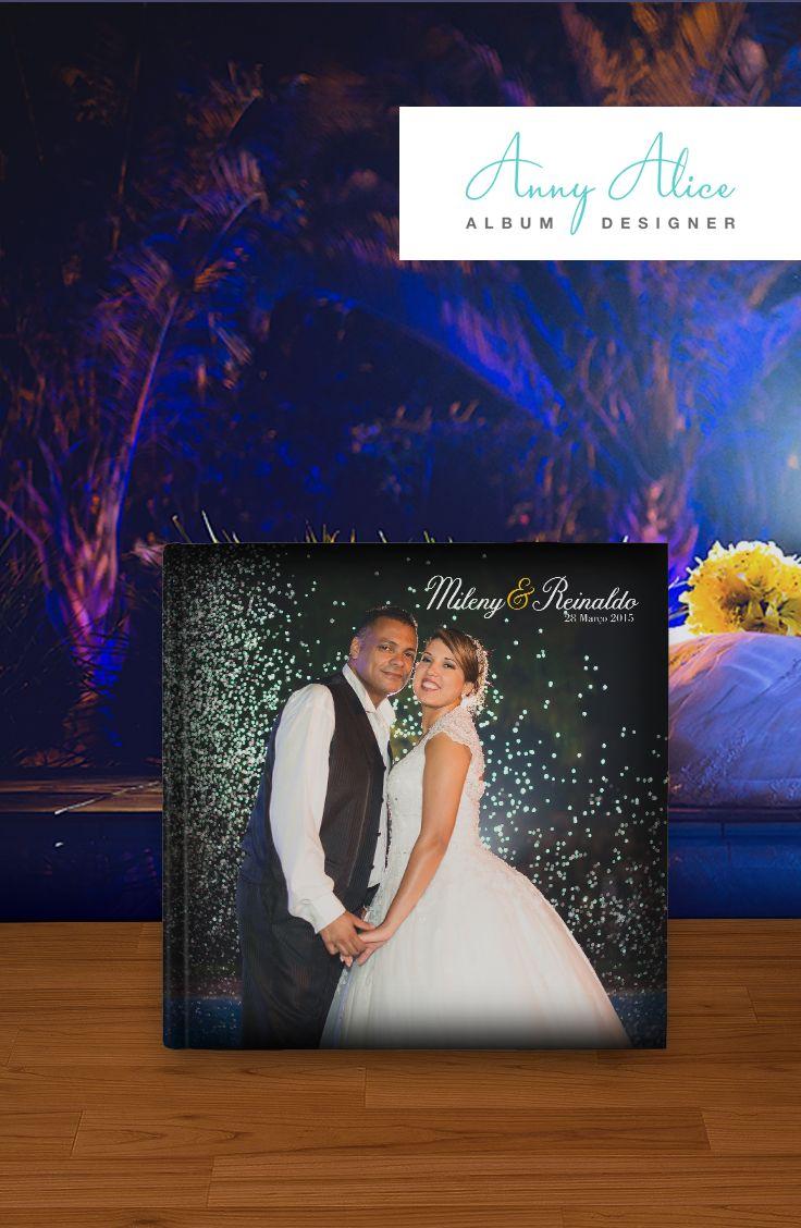 Álbum de casamento do casal Mileny & Reinaldo, foi um casamento com uma EXPLOSÃO de cores e eu amei fazer esse álbum. Quer ver como ficou? Acesse o meu site e meu facebook para conferir não só este álbum mas muitos outros!  #annyalicealbuns