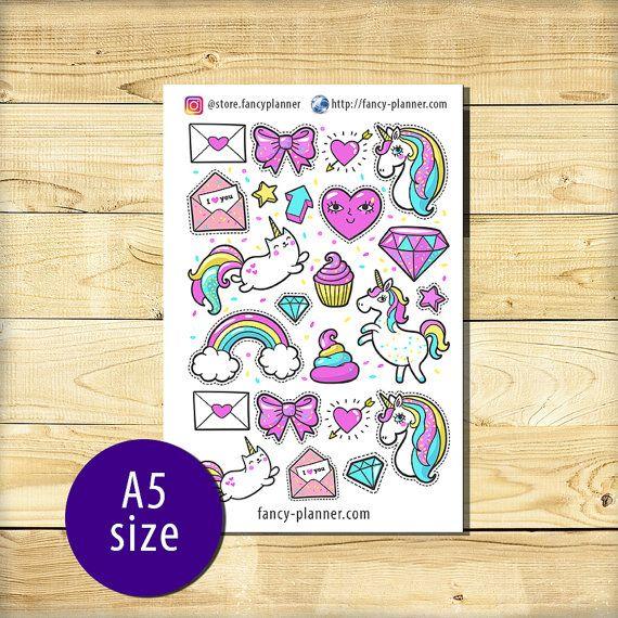A5-013 Planner cute stickers A5 binder от StoreFancyplanner