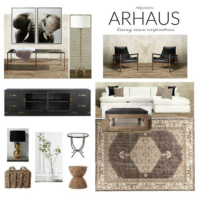 Crazy Wonderful Arhaus Living Room Design Board Neutral