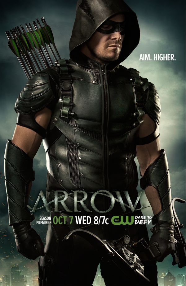 Poster de la cuarta temporada de Arrow