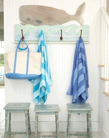beach towels, and beach tote