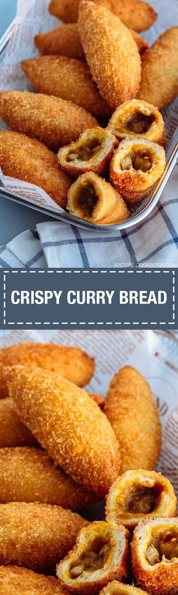Curry Bread (Kare Pan) カレーパン - With a savory curry filling, a chewy, springy texture, and a light coating of crispy panko, Japanese Curry Bread or Kare Pan is the star of pastries at Japanese bakery shops. If you are a huge fan of Japanese curry, you have to make this insanely delicious bread bun at home.#CurryPan #CurryBread #friedbread #Pan #Bread #カレーパン #KarePan #curry | Easy Japanese Recipes at JustOneCookbook.com