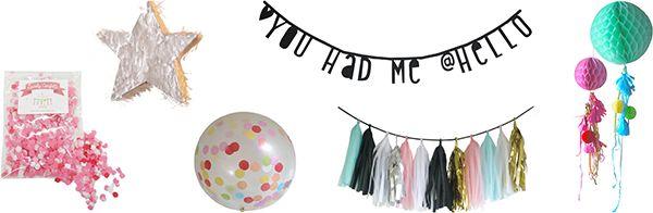 A Little Lovely Company Zoete wereld, Oh, hoe geweldig! Wij struinen likkebaardend door A Little Lovely Company. XXL ballonnen met stippen, tassel garlands, pastelkleurige confetti en hone...