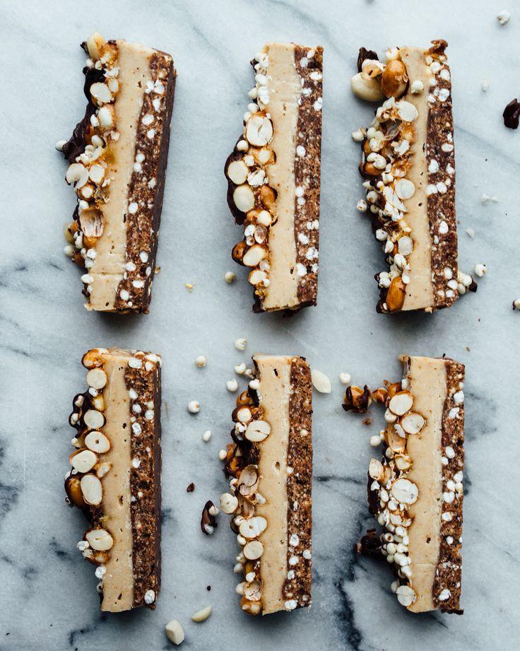 vegan peanut butter pie slice #lornajane #mnb #nourish | movenourishbelieve.com