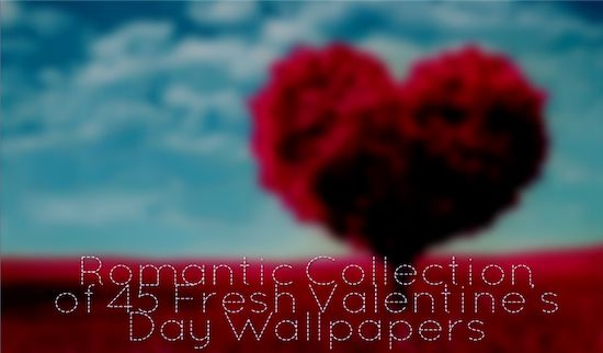 Romantic Collection of 45 Fresh Valentine's Day Wallpapers